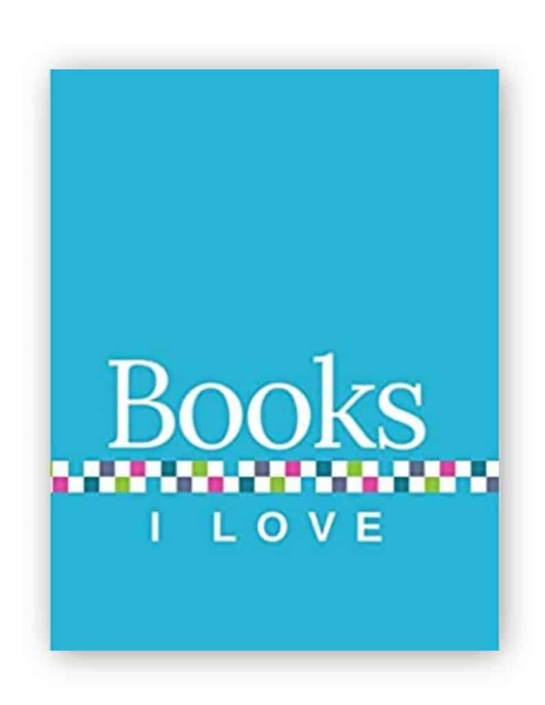 Books I Love - Light Blue