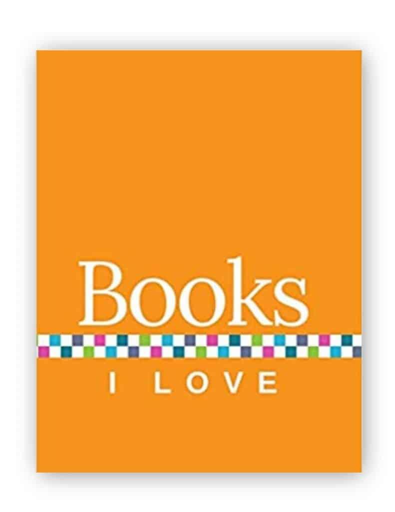 Books I Love - Orange