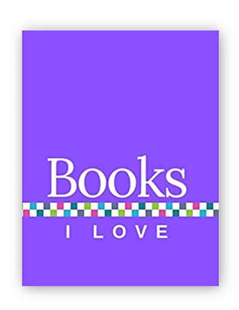 Books I Love - Purple