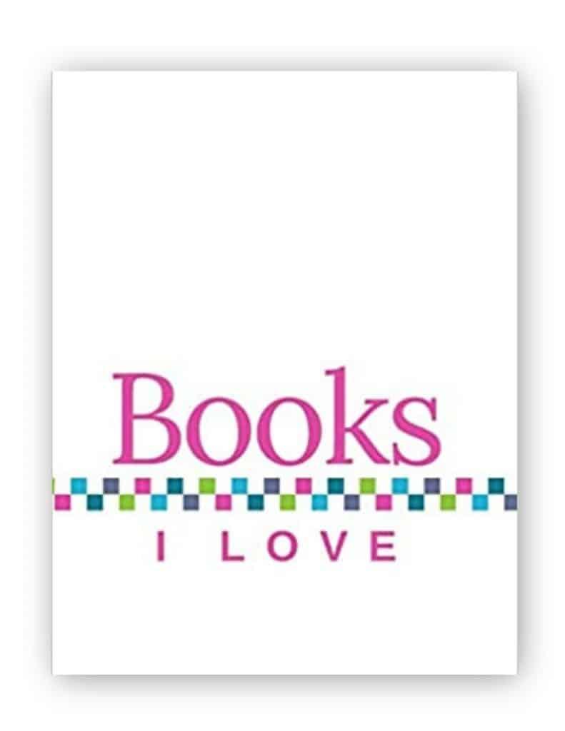 Books I Love - White