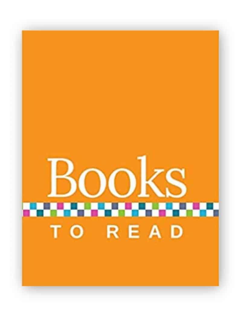 Books to Read Journal - Orange