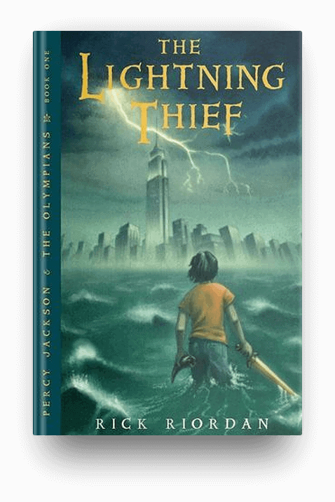 The Lightning Thief: Percy Jackson and the Olympians #1 by Rick Riordan