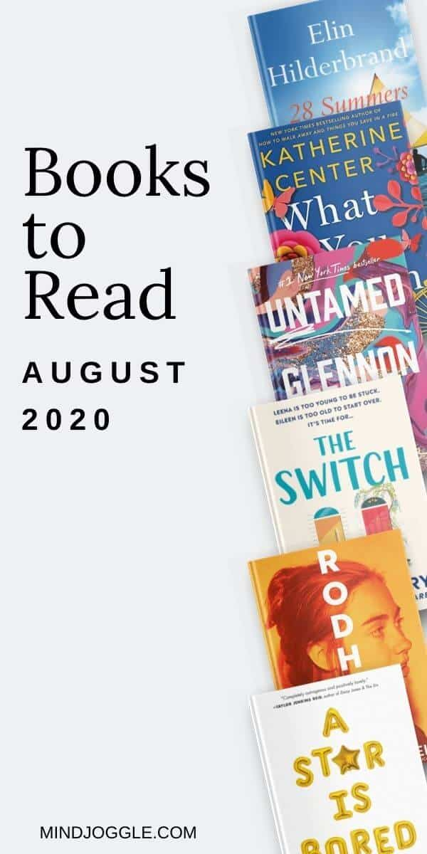 Books to Read in August 2020