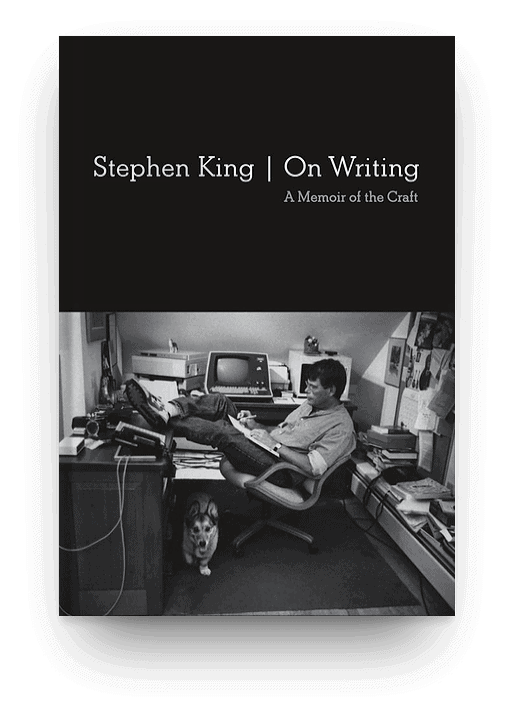 On Writing: A Memoir of the Craft by Stephen King, a nonfiction book about books