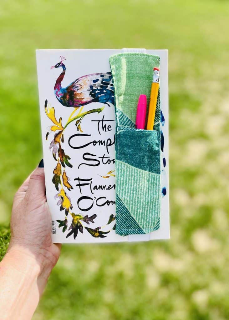 Bookmark pen holder, a great gift for readers
