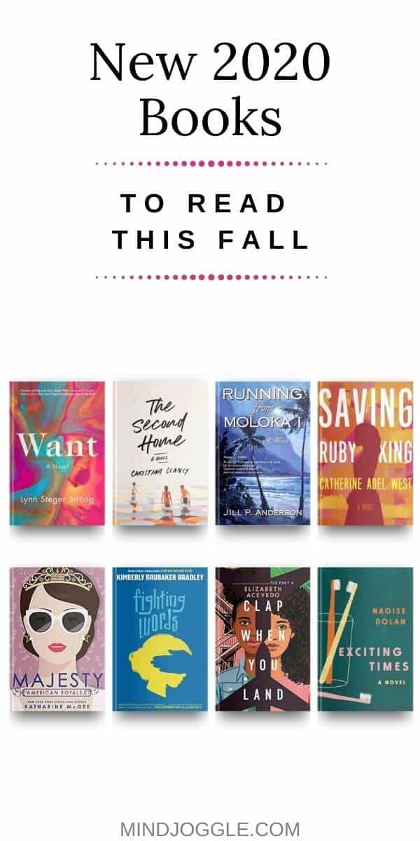 New 2020 Books to Read this Fall