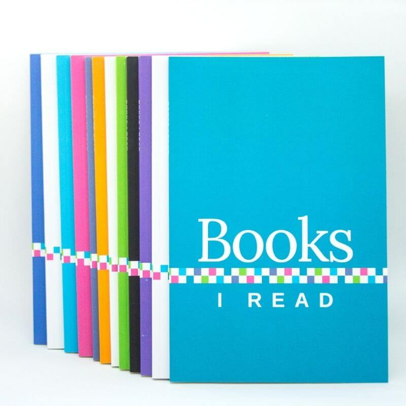 Reading journals, great gifts for book lovers.