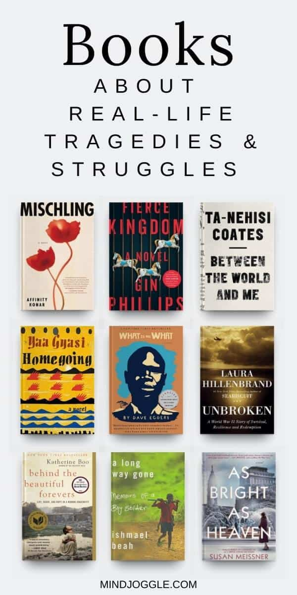 Books About Real-Life Tragedies and Struggles