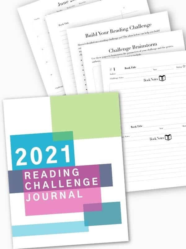 2021 Reading Challenge Journal