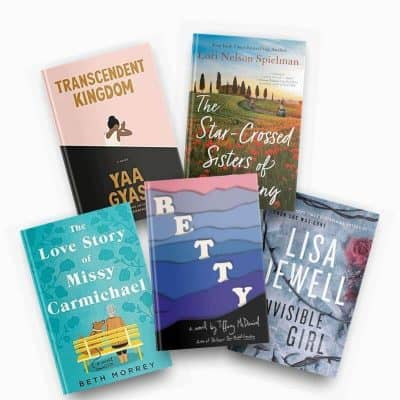 December 2020 book reviews, including Transcendent Kingdom, The Star-Crossed Sisters of Tuscany, The Love Story of Missy Carmichael, Betty, and Invisible Girl.