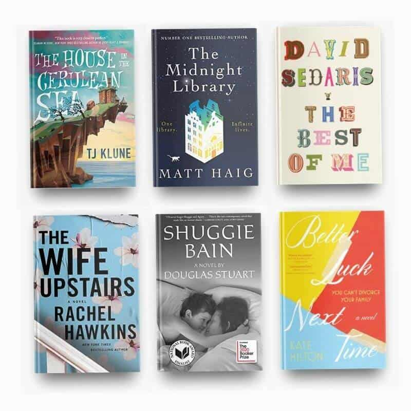 January 2021 book reviews, including The House in the Cerulean Sea, The Midnight Library, The Best of Me, The Wife Upstairs, Shuggie Bain, and Better Luck Next Time