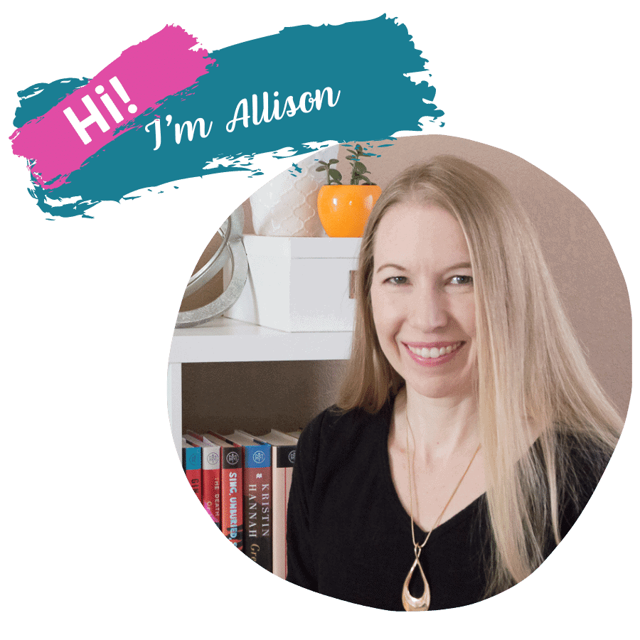 Hi! I'm Allison