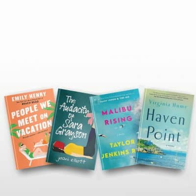 June 2021 book reviews of The People We Meet on Vacation, The Audacity of Sara Grayson, Malibu Rising, Haven Point, and more
