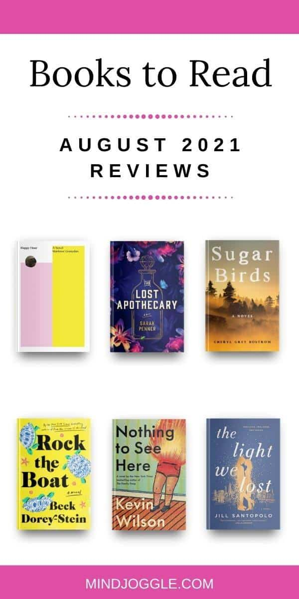 Books to Read - August 2021 Reviews