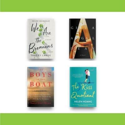 September 2021 book reviews of We Are the Brennans, Girl A, The Boys in the Boat, and The Kiss Quotient