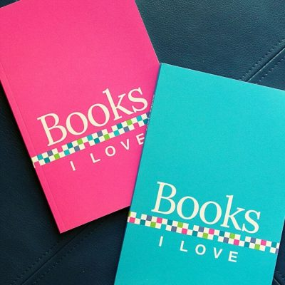 Books I Love journals for recording your favorite books