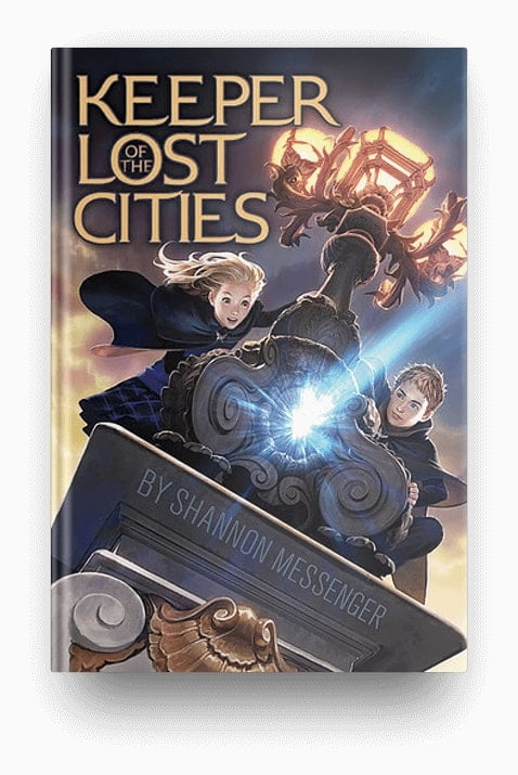 Keeper of the Lost Cities, a fantasy book series to read after Harry Potter