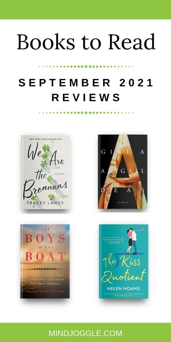 Books to Read - September 2021 Reviews