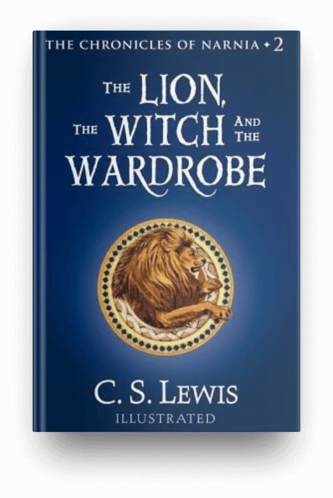 The Lion, the Witch, and the Wardrobe by C.S. Lewis, a classic fantasy book series for kids
