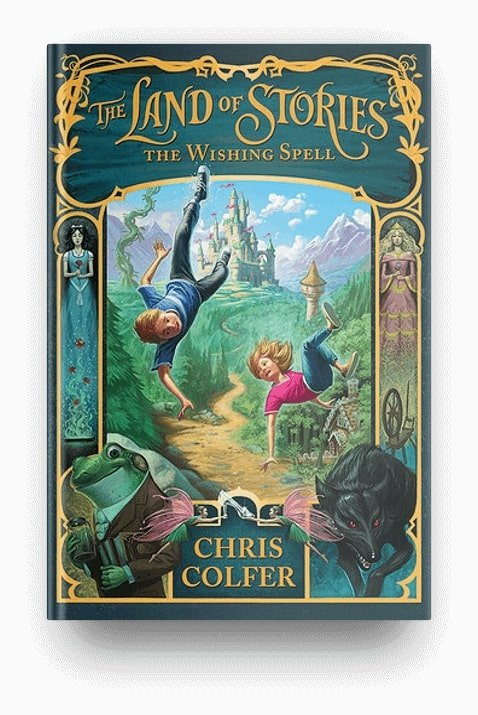The Wishing Spell by Chris Colfer, a fantasy fairy tale retelling for kids